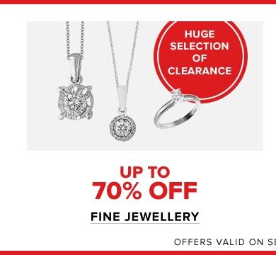 Save More on Fine Jewellery ...