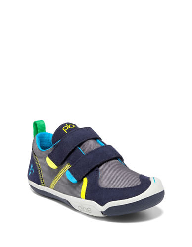 Plae Ty Multicolour Shoes-NAVY STEEL-2