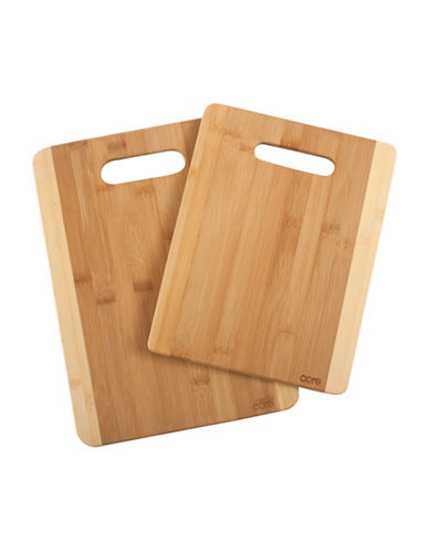 Core Home Two-Piece Daisy Cutting Board Set-NATURAL-One Size