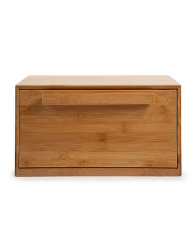 Core Home Bamboo Bread Box-BEIGE-One Size