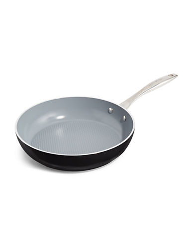 Green Pan Milan 3D 28cm Dimpled Skillet-GREY-One Size