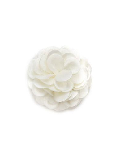 Hook + Albert Full Satin Lapel Flower-IVORY-One Size