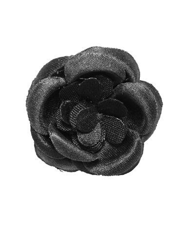 Hook + Albert Lapel Flower-BLACK-One Size