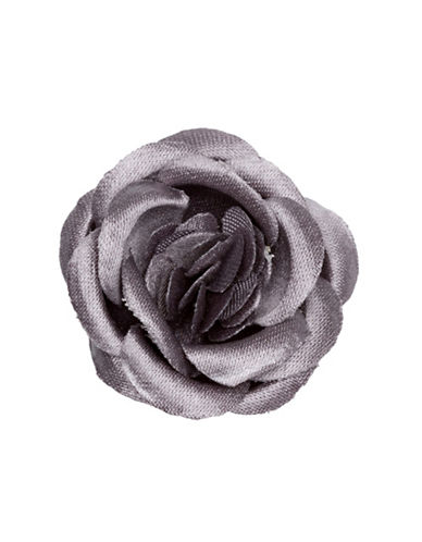 Hook + Albert Lapel Flower-GREY-One Size