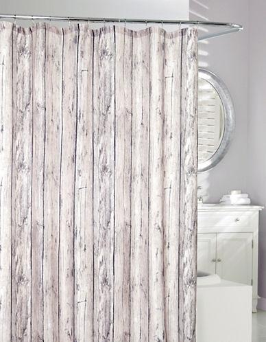 Moda Oakwood Shower Curtain-GREY/TAUPE-One Size
