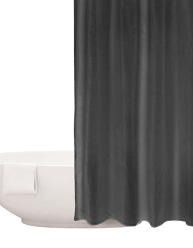 Distinctly Home Waterproof Shower Curtain Liner-GREY-One Size