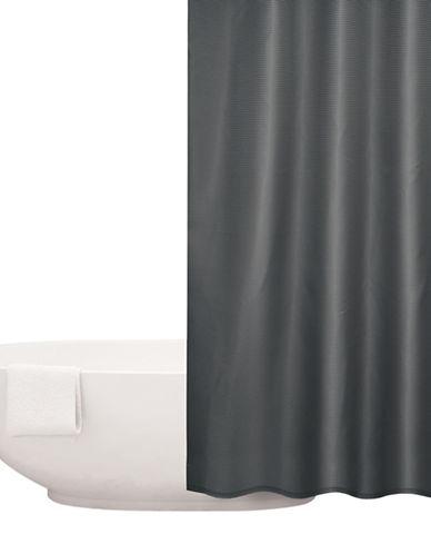 Distinctly Home Waffle Shower Curtain-SMOKE PEARL-One Size