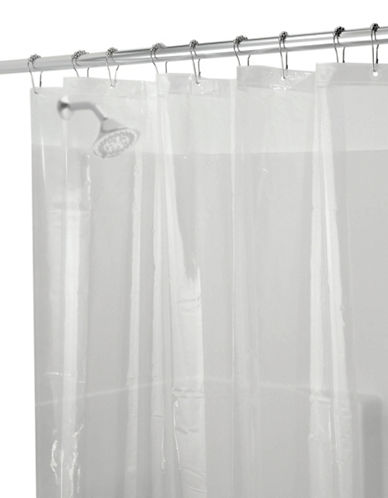 Distinctly Home Heavy Duty Vinyl Shower Curtain Liner-CLEAR-One Size