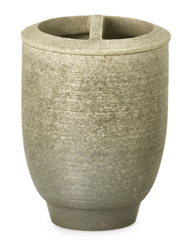 Moda Sandstone Toothbrush Holder-SANDSTONE-One Size
