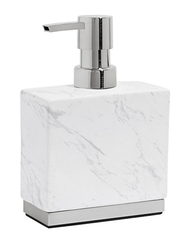 Distinctly Home Ceramic Marble-Look Lotion Dispenser-MARBLE-One Size