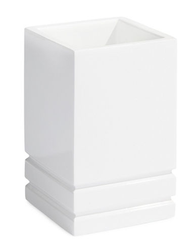 Distinctly Home Linear Resin Tumbler-WHITE-One Size