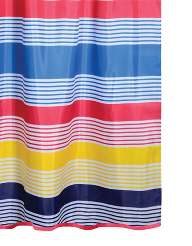 Home Studio Multicolour Horizontal Shower Curtain-MULTI-One Size