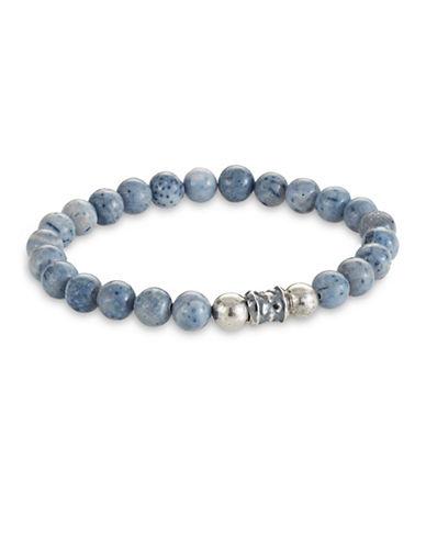 Degs And Sal Stealth Beaded Stretch Bracelet-BLUE-Medium