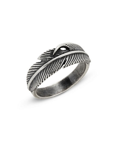 Degs And Sal Feather Ring-SILVER-9