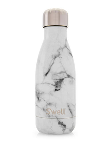 SWell Marble Stainless Steel Bottle-WHITE-One Size