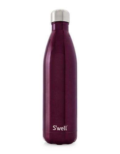 SWell Sangria Glitter Stainless Steel Bottle-PURPLE-One Size