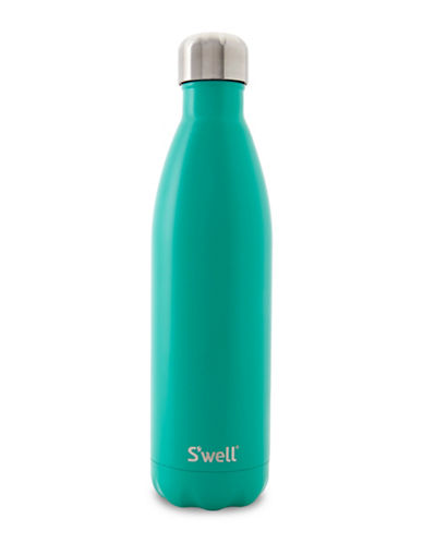 SWell Eucalyptus Stainless Steel Bottle-GREEN-One Size
