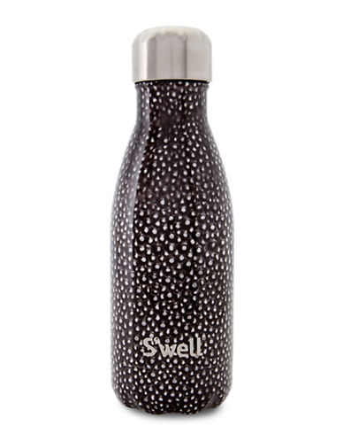 SWell Stingray Stainless Steel Water Bottle-BLACK-One Size