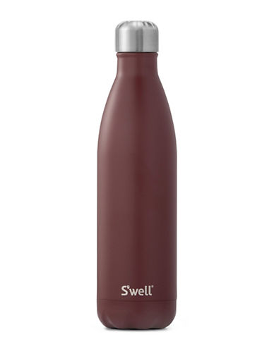 SWell Satin Bordeaux Bottle 750ml-RED-One Size