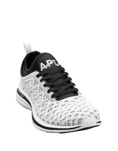 Apl TechLoom Phantom Running Shoes-WHITE/BLACK-7 88459458_WHITE/BLACK_7