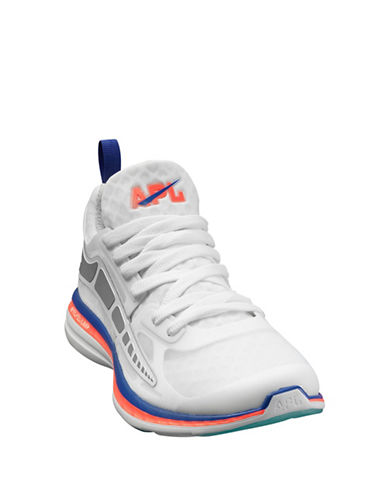 Apl Prism Running Shoes-WHITE/ROSE/BLUE-8.5 88459365_WHITE/ROSE/BLUE_8.5