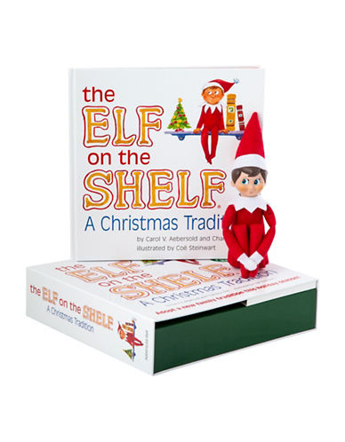 Elf On The Shelf Elf on the Shelf A Christmas Tradition-MULTI-One Size