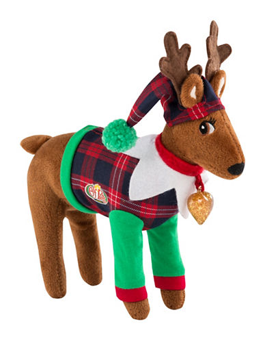 Elf On The Shelf Elf Pets A Reindeer Tradition Plush Toy & Book Set - French Version-MULTI-One Size