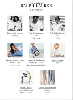Lauren Ralph Lauren offers a collection of timeless American style for the  modern woman, with effortless essentials including sweaters, dresses,  pants, ...