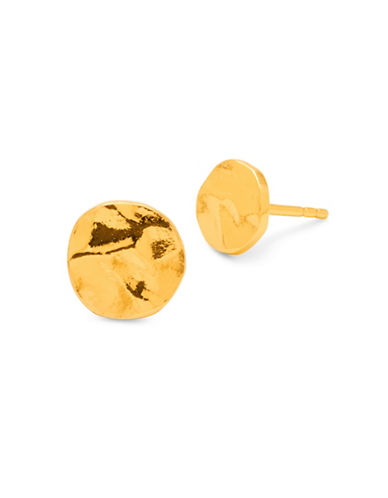 Gorjana Core Chloe 18K Goldplated Stud Earrings-GOLD-One Size