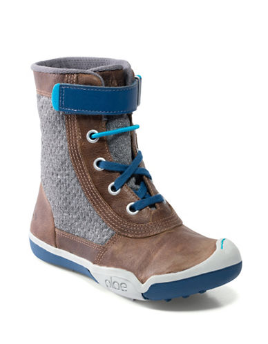 Plae Noel Breathable Sneaker Boots-BROWN-9