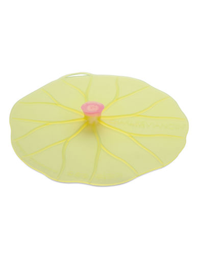 Charles Viancin Lilypad 11 Inch Silicone Lid-GREEN-Large