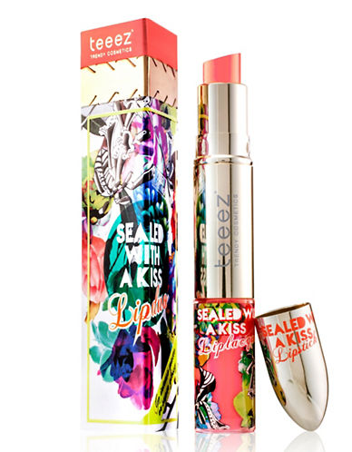 Teeez Cosmetics Sealed with a Kiss Lipduo-ELECTRIC CORAL-One Size