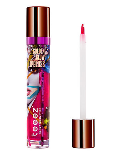 Teeez Cosmetics Golden Glow Lipgloss-TOURMALINE RASPBERRY-One Size