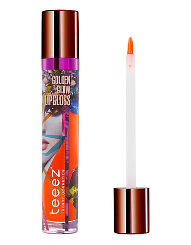 Teeez Cosmetics Golden Glow Lipgloss-SUNRISE TANGERINE-One Size