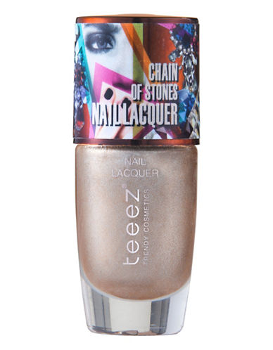 Teeez Cosmetics Chain of Stones Nail Lacquer-PRETTY IN PYRITE-One Size