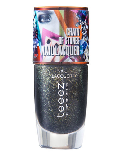 Teeez Cosmetics Chain of Stones Nail Lacquer-GOLD RUSH-One Size