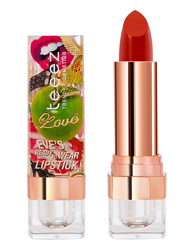Teeez Cosmetics Eves Ready To Wear Lipstick-ADVENTUROUS ORANGE-One Size