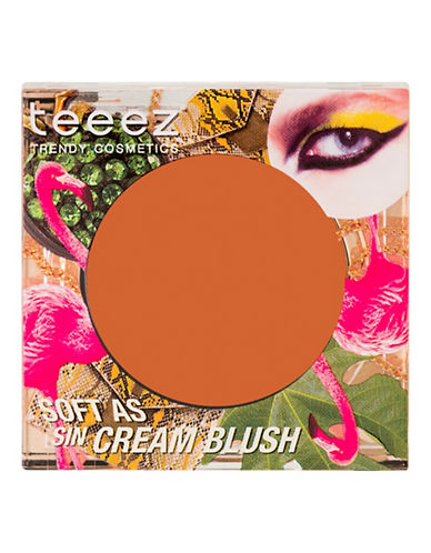 Teeez Cosmetics Soft as Sin Cream Blush-CLASSY CORAL-One Size