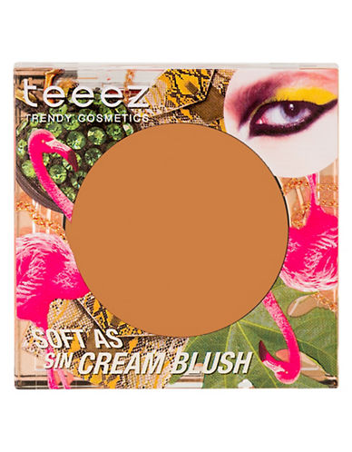 Teeez Cosmetics Soft as Sin Cream Blush-SUN TAN TAUPE-One Size