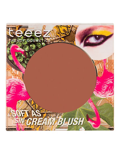 Teeez Cosmetics Soft as Sin Cream Blush-BEACH GLOW BROWN-One Size