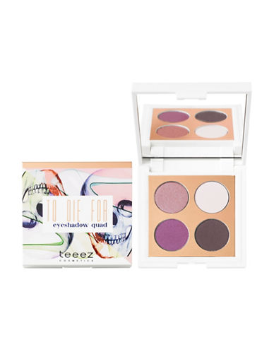 Teeez Cosmetics To Die For Eyeshadow Quad-STUNNING HAZE-One Size