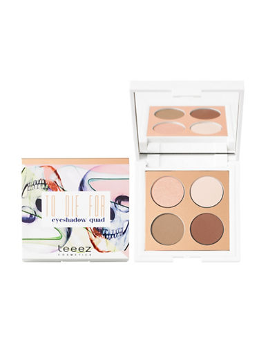 Teeez Cosmetics To Die For Eyeshadow Quad-CINNAMON REVOLUTION-One Size