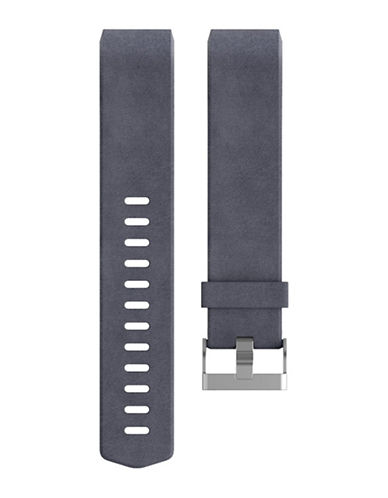 Fitbit Charge 2 Leather Band-PURPLE-Large
