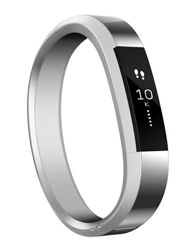 Fitbit Unisex Accessory Band Fitbit Alta Watch-SILVER-One Size