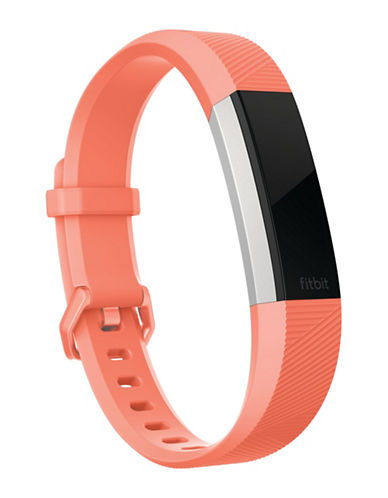 Fitbit Alta HR Elastomer Accessory Band-CORAL-Large