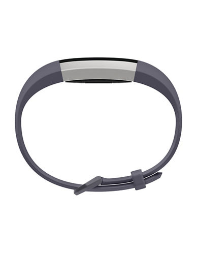 Fitbit Alta HR Leather Accessory Band-BLUE-Large