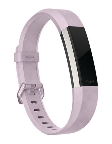 Fitbit Alta HR Leather Accessory Band-PURPLE-Small