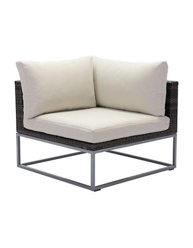Zuo Modern Malibu Corner Chair-BROWN-One Size 89132028_BROWN_One Size