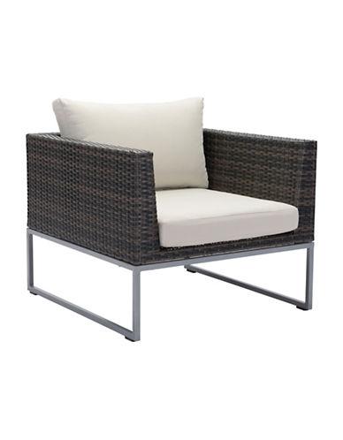 Zuo Modern Malibu Armchair-BROWN-One Size 89132024_BROWN_One Size