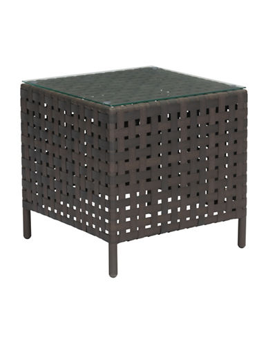 Zuo Modern Pinery Side Table-BROWN-One Size
